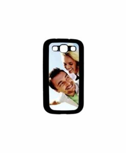 *Coque Galaxy S3 et sa plaque Chromaluxe personnalisable*