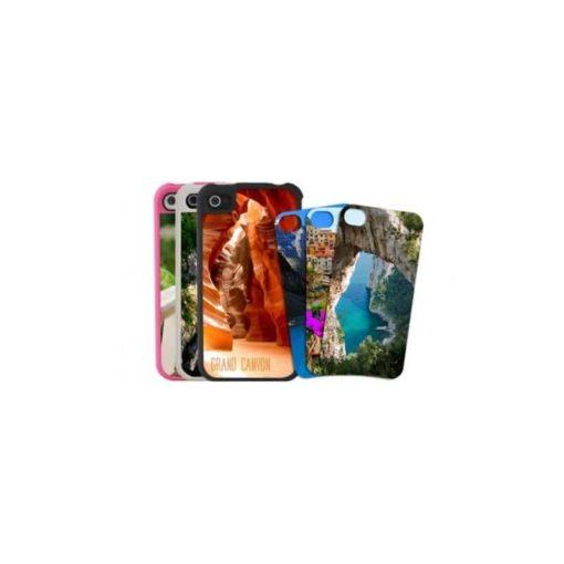 *Coque Iphone 4/4s et sa plaque Chromaluxe Version Grise*