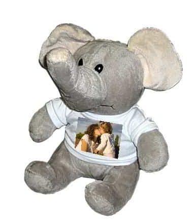*Peluche Éléphant - T-Shirt Personnalisable*
