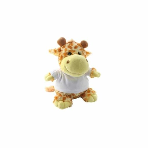 *Peluche Girafe- T-Shirt Personnalisable*