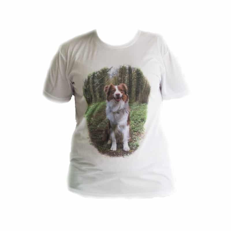 T-Shirt Blanc Personnalisable Adulte