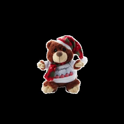 *Peluche Ourson de noel- T-Shirt Personnalisable*
