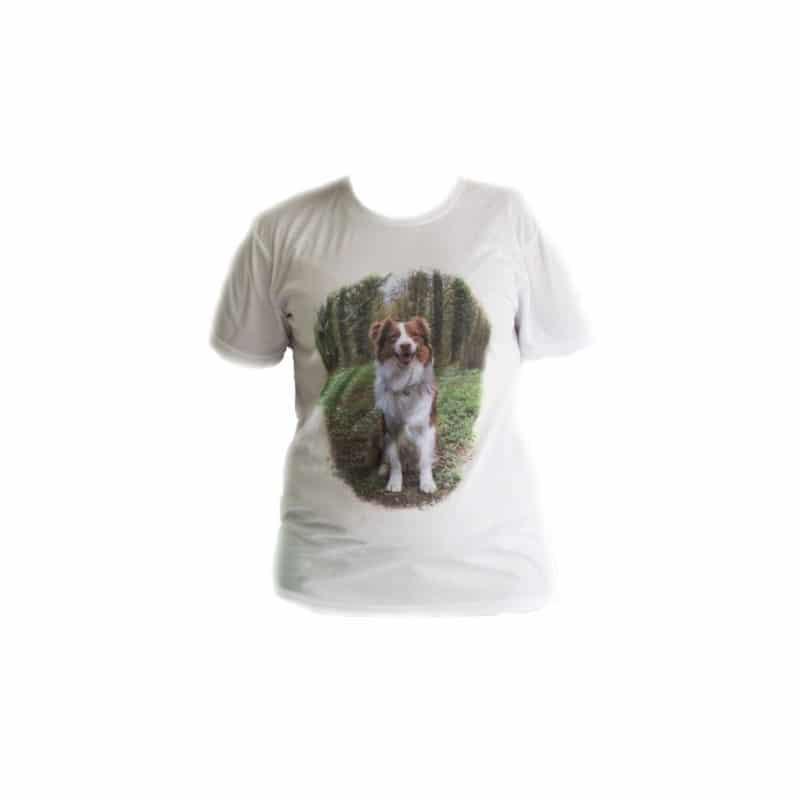 """T shirt Blanc """"Personnalisable"""" Enfant"""
