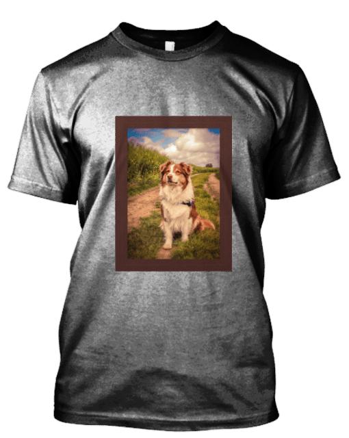 T-Shirt avec photo personnalisé